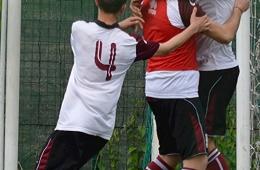 DSC_0085_Il gol della Castelnuovese-Angelotti festeggiato dai compagni