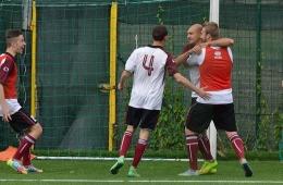 DSC_0086_Il gol della Castelnuovese-Angelotti festeggiato dai compagni